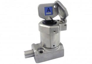 Interblocaj cu bolt cu o singură cheie,din oțel inoxidabil 316 BS