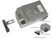 Comutator de blocare KLT-SS- RFID din otel inoxidabil, cu solenoid
