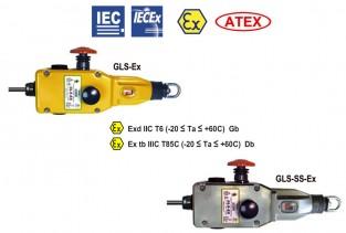 GLS-Ex and GLS-SS-Ex Comutatoare de siguranță cu coardă de tracțiune