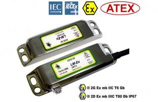 LM-Ex comutator de siguranță fără contact cu protecție anti-explozivă