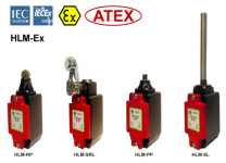 HLM-Ex comutatoare din metal turnat sub presiune, cu protecție anti-explozivă