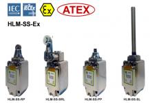 HLM-SS-Ex Comutatoare din oțel inoxidabil 316 Limit, cu protecție anti-explozivă