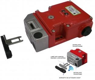 Comutator de blocare KLTM-RFID cu solenoid