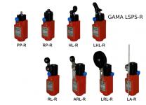 LSPS-R: Comutatoare de siguranță Limit cu resetare-plastic