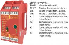 VIPER Releu de siguranță cu temporizator  SCR-31-42TD-i