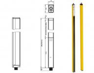SLCS-F / H / B: Perdele luminoase de siguranță subțiri